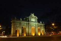puerta de l'alcala de Madrid Images libres de droits