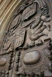 Puerta de la abadía del baño Fotografía de archivo