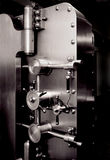Puerta de la cámara acorazada de batería Imágenes de archivo libres de regalías