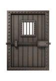 Puerta de la cárcel ilustración del vector