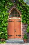 Puerta de la capilla Fotografía de archivo libre de regalías