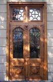 Puerta de la casa fotografía de archivo