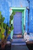Puerta de la casa de Tucson Imágenes de archivo libres de regalías