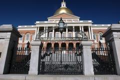 Puerta de la casa del estado de Massachusetts Fotos de archivo libres de regalías