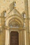 Puerta de la catedral Imagen de archivo