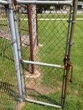 Puerta de la cerca Fotos de archivo