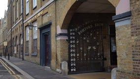 Puerta de la cervecería de Romford Foto de archivo libre de regalías