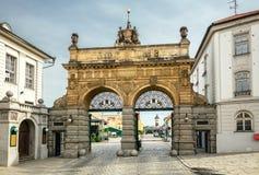 Puerta de la cervecería, Pilsen Imagenes de archivo