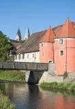 Puerta de la cerveza, Cham, Baviera, Alemania foto de archivo libre de regalías