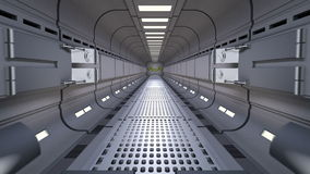 Puerta de la ciencia ficción ilustración del vector