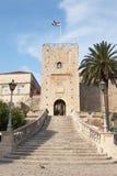 Puerta de la ciudad Imagen de archivo libre de regalías