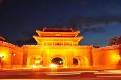 Puerta de la ciudad Foto de archivo