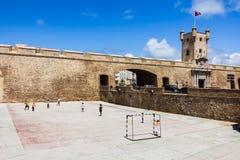 Puerta de la ciudad de Cádiz Imágenes de archivo libres de regalías