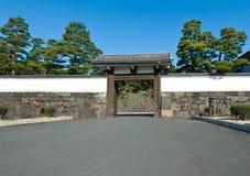 Puerta de la ciudad del palacio, desprotegida imagen de archivo libre de regalías