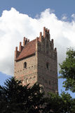 Puerta de la ciudad en Anklam en Alemania Imagenes de archivo
