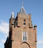 Puerta de la ciudad en Haarlem Fotos de archivo libres de regalías