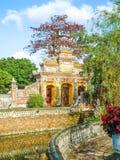 Puerta de la ciudad Prohibida en la tonalidad, Vietnam Fotografía de archivo
