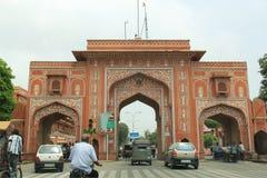 Puerta de la ciudad rosada Imagen de archivo