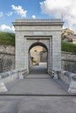 Puerta de la ciudad vieja de Briancon Fotos de archivo libres de regalías