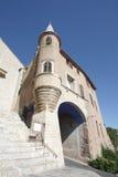 Puerta de la ciudad vieja de Hyeres Fotografía de archivo