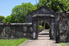Puerta de la ciudadela Imagen de archivo