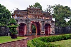 Puerta de la ciudadela de la tonalidad imagen de archivo libre de regalías