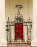 Puerta de la corte Imagen de archivo libre de regalías