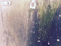 Puerta de la descomposición en su proceso de degradación Imagen de archivo