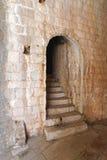 Puerta de la escalera Imágenes de archivo libres de regalías