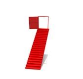 Puerta de la escalera de los pasos de progresión Fotografía de archivo libre de regalías