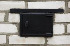 Puerta de la estufa Para su anuncio publicitario y editorial Fotografía de archivo libre de regalías