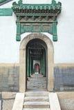 Puerta de la etapa de la ópera Fotos de archivo libres de regalías
