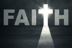 Puerta de la fe Imágenes de archivo libres de regalías