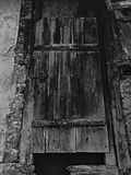 puerta de la fortaleza Foto de archivo