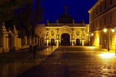 Puerta de la fortaleza imagen de archivo libre de regalías