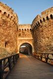 Puerta de la fortaleza de Belgrado Imagen de archivo libre de regalías