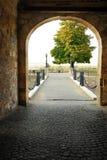 Puerta de la fortaleza de Belgrado Fotografía de archivo libre de regalías
