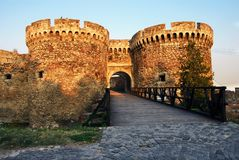 Puerta de la fortaleza de Belgrado Imagenes de archivo