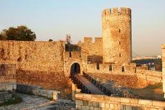 Puerta de la fortaleza de Belgrado Fotos de archivo