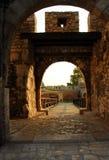 Puerta de la fortaleza de Belgrado Imágenes de archivo libres de regalías