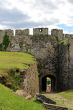 Puerta de la fortaleza de Jajce Imagen de archivo