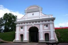 Puerta de la gran ciudad Imágenes de archivo libres de regalías