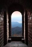 Puerta de la Gran Muralla fotografía de archivo
