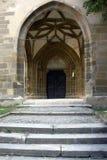 Puerta de la iglesia Foto de archivo libre de regalías