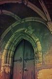 puerta de la iglesia Imagen de archivo libre de regalías