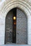 Puerta de la iglesia Fotos de archivo
