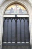 Puerta de la iglesia de todos los santos, Wittenberg imagen de archivo