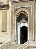 Puerta de la iglesia ortodoxa Imagen de archivo