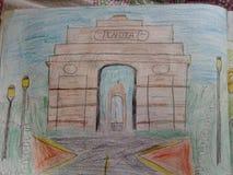 Puerta de la India foto de archivo libre de regalías