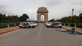 Puerta de la India, Delhi Fotos de archivo